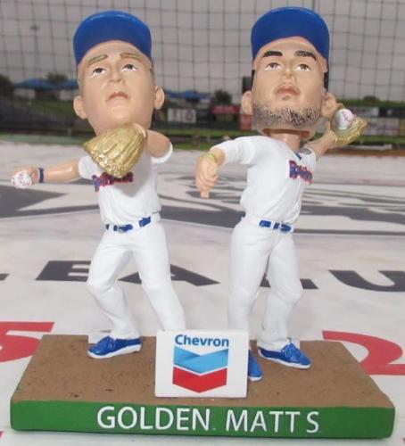Matt Chapman  Matt Olson 'Golden Matts' - May 31, 2019
