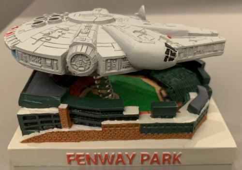 Millennium Falcon over Fenway Park - April 25, 2019