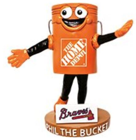 Phil the Home Depot Bucket - April 14, 2019