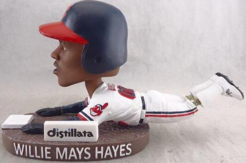 Willie Mays Hayes 'Bobble-legs' - June 25, 2016
