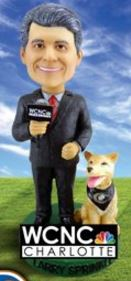 Larry Sprinkle with Dog - August 23, 2016