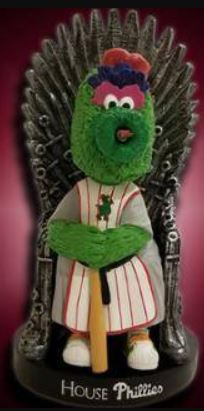 Philly Phanatic 'Game of Thrones' - June 18, 2018