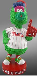 Philly Phanatic 'Red or Black foam finger' - August 31, 2016