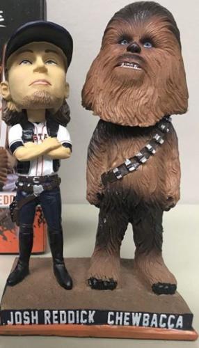 Josh Reddick 'Chewbacca & Solo' - May 18, 2018
