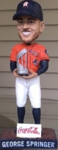 George Springer 'World Series MVP' - April 14, 2018
